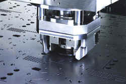 CNC Punching - All Tools Rotate 360 Degrees at 180 RPM
