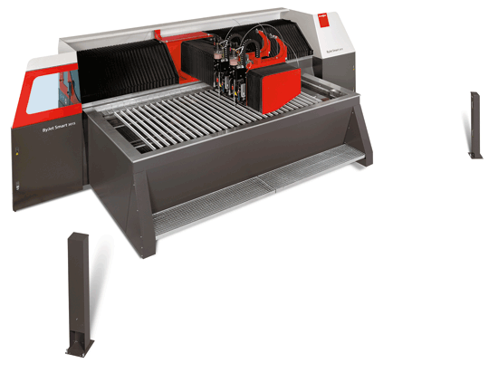 Bystronic ByJet Smart The economically priced, high-quality, compact waterjet cutting system