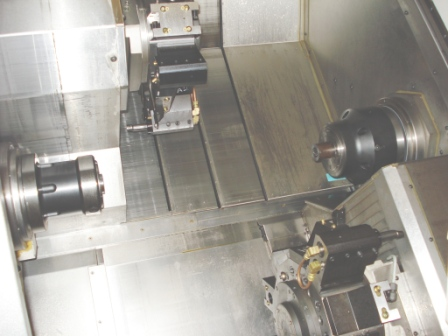 Mult-Axis CNC Turning
