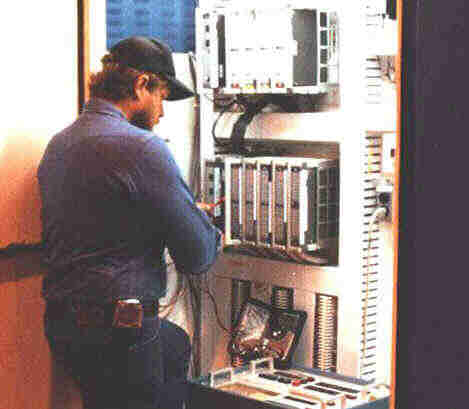 Electrical Control Cabinet Fabrication and Maintenance